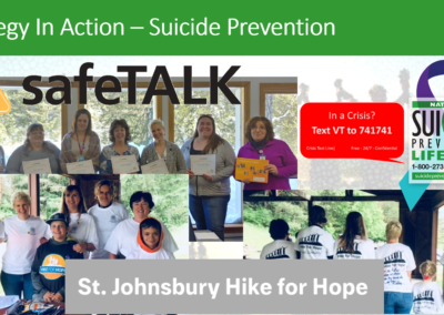 Suicide Prevention - Strategy in Action